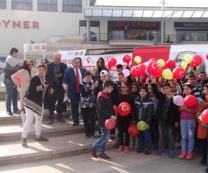 Mersin'de 'Çocuk Hakları Şenliği'