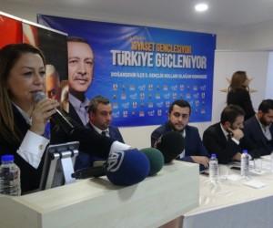 AK Parti Doğanşehir Gençlik Kolları Başkanı Karabıyık oldu