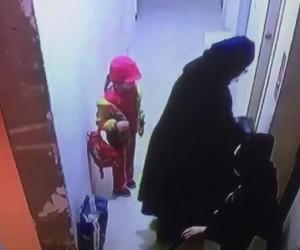 Muhammed bebeğin öldüğü asansör faciası kamerada