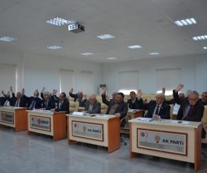 İl Genel Meclisi Kasım ayı 16'ncı birleşiminde 3 gündem maddesi görüşüldü
