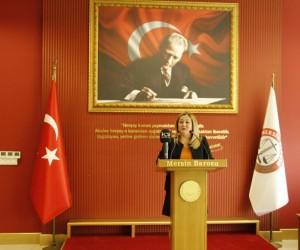 """Av. Baydar: """"Kadına yönelik her türlü ayrımcılığı, her türlü şiddeti reddediyoruz"""""""