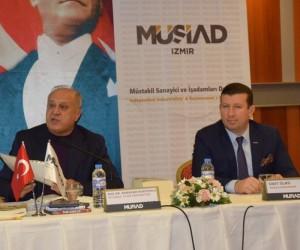 MÜSİAD İzmir'de 'Küresel Para Savaşları' konuşuldu