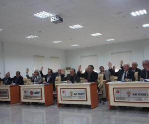 İl Genel Meclisi Kasım ayı 18'inci birleşiminde 4 gündem maddesi görüşüldü