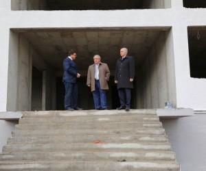 Vali, Evliya Çelebi Eğitim Merkezi Müdürlüğü'nün yeni hizmet binasını inceledi