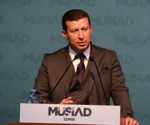 """MÜSİAD İzmir Başkanı Ülkü'den """"küresel yargı kumpası"""" açıklaması"""
