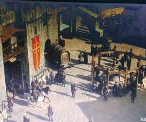 Kuruluş Osman Dizisi'nde İnegöl'deki kale sahnesi