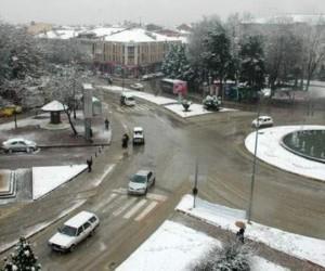 İnegöl'e kar geliyor