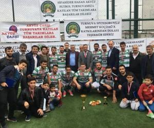 Arapgir SİPAHİDER Futbol Turnuvası sona erdi