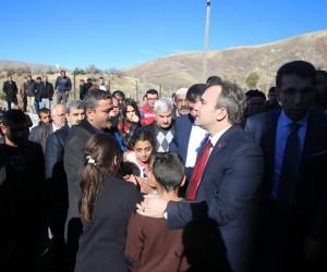 Başkan Taşkın'dan Soğanlı köyüne taziye ziyareti