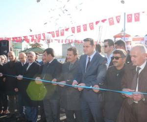 Van'da Naim Süleymanoğlu Parkı'nın açılışı yapıldı