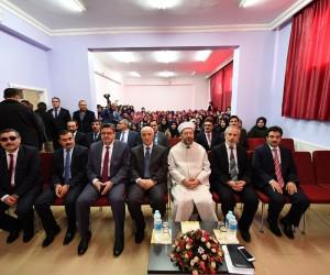 Diyanet İşleri Başkanı Erbaş'tan, İmam Hatip Lisesi öğrencilerine tavsiyeler
