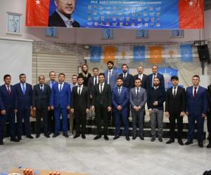 Zile Ak Parti Gençlik Kolları Başkanlığına Resul Muşlu seçildi
