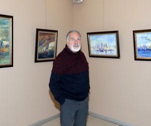 Ressam Meriç, 71. kişisel sergisini açtı