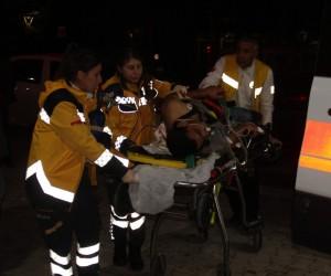 Suriyeliler arasında bıçaklı kavga :3 yaralı