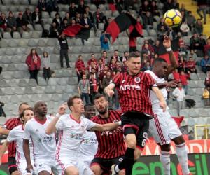 Süper Lig: Gençlerbirliği: 1 - Sivasspor: 0 (İlk yarı)