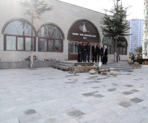 Medine-Sami Elmacıoğlu Camii'nde son rötuş