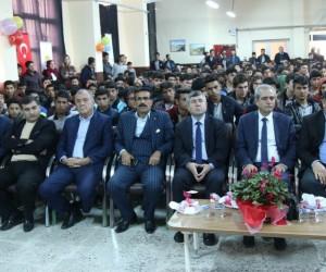 Haliliye Belediye Başkanı Fevzi Demirkol ödül töreninde konuştu