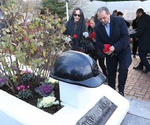 Efsane başkan Metin Türker mezarı başında anıldı