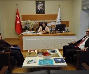 Ahmet Güngör, Elif Acar'ı ziyaret etti