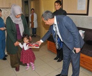 Başkan Akkaya'dan rehabilitasyon merkezlerine ziyaret