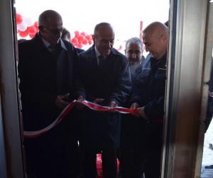 Yüksekova'nın ilk yangın tüpü dolum tesisi açıldı