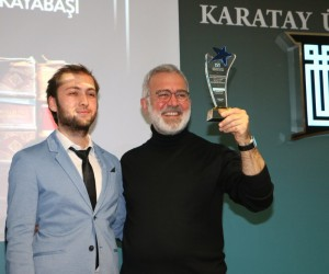 Bahadır Yenişehirlioğlu'na 'Yılın Dizi Oyuncusu' ödülü