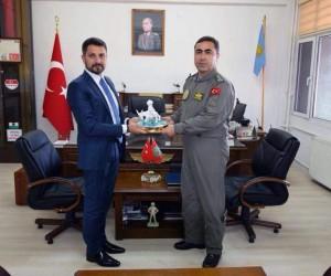 Başkan Yüzügüllü'den hemşehrisi Albay Gürel'e ziyaret