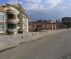 Karadere Caddesi yeni yüzüne kavuştu