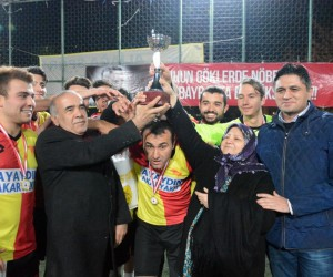 Şehit Oğuz Özgür Çevik Turnuvası Şampiyonu Göztepe