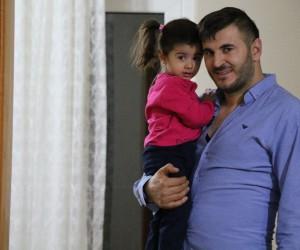 Türkiye'nin ağladığı Esila, babasına kavuştu