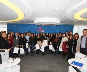 Kadın mühendis adayları TREDAŞ'a ilgisi yoğun oldu