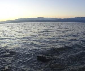 Kurulan kamera ile gölün gün doğumu ve batımı gözlendi