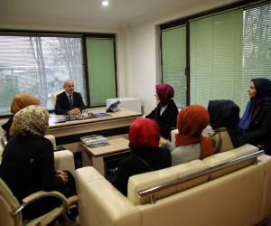 SASKİ Genel Müdürü Keleş, KADEM Başkanı ve üyeleri ile bir araya geldi