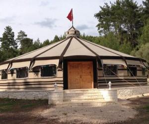 Esentepe'ye 'yörük' çadırı