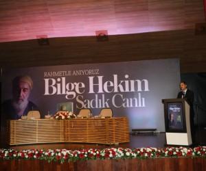 """""""Bilge Hekim Sadık Canlı"""" Serdivan'da Anıldı"""