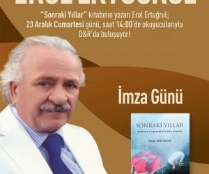 Forum Aydın bu hafta sonu Erol Ertuğrul'u ağırlayacak