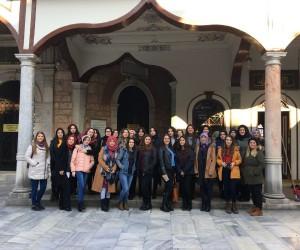 Akademi Lise öğrencileri Bursa'yı gezdiler