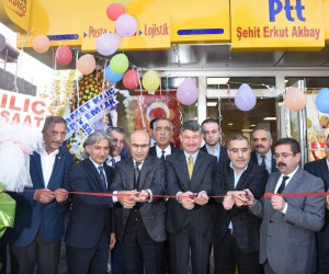Şehit Erkut Akbay Mahallesi'ne PTT şubesi