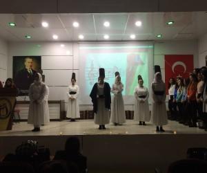 Mevlana, Hayme Ana Mesleki ve Teknik Anadolu Lisesi'nde anıldı