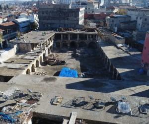Şahinbey Belediyesi Mecidiye Hanı'nı günümüze kazandırıyor
