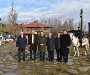 Başkan Tiryaki, Gazeciler Cemiyeti'ni
