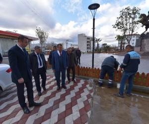 Başkan Çerçi'den Muradiye'deki çalışmalara yerinde inceleme