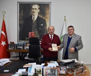 Başkan Albayrak, Yazar Haşim Korkmaz'ı  ağırladı