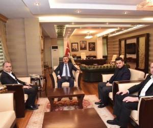 AK Parti İl Başkanı Karabıyık'tan Ağrı Valisi Elban'a ziyaret