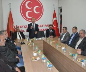 """Bursa İl Başkanı Tevfik Topçu """"İnegöl'ün il olmasını destekleyeceğiz"""""""