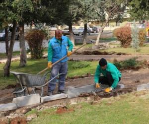 Akbulut parkı yenileniyor
