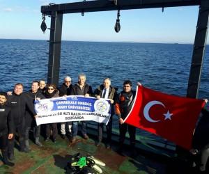 2018 Troia Yılı'nda 'Adaların Su Altı Dalış Güzergahları' Projesi