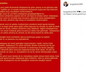 Turgay Kıran adaylıktan çekildi