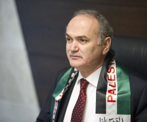 Bakan Özlü down sendromlu Filistinli Muhammed'i kabul etti