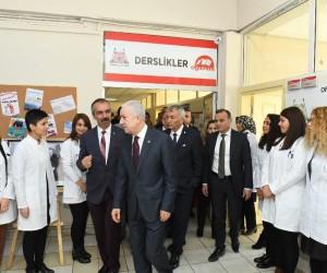 MHP Genel Başkan Yardımcısı Durmaz, Isparta'da ziyaretler gerçekleştirdi